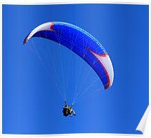 Tandem Paraglider Poster