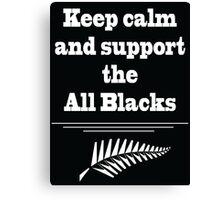 All Blacks  Canvas Print
