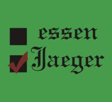 Shingeki no kyojin: essen or Jaeger? Kids Tee