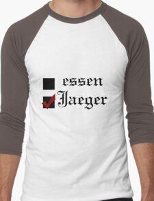 Shingeki no kyojin: essen or Jaeger? Men's Baseball ¾ T-Shirt