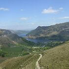 Ullswater from Helvellyn by Tanya Housham