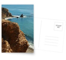 Scenic view in Palos Verdes, Southern California, USA Postcards