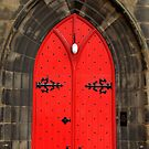 Red Door, Edinburgh by Tiffany Dryburgh