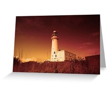 Flamborough Lighthouse Warming Greeting Card