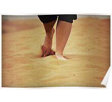 Sand Gait Poster