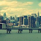 manhattan as seen from williamsburg, brooklyn by ShellyKay