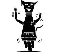 Robot Cat Photographic Print