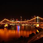 Story Bridge at Night by Tim Harper