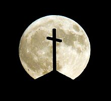 Cross in the moon light by Don Blake