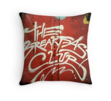 The Breakfast Club Throw Pillow