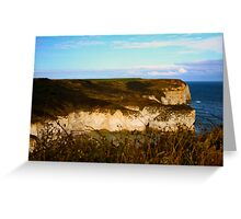 Flamborough Cliffs Greeting Card