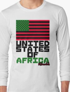 UNITED STATES OF AFRICA Long Sleeve T-Shirt