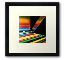 Pencil box Framed Print