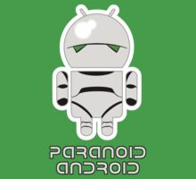 PARANOID ANDROID Kids Tee