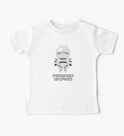 PARANOID ANDROID Baby Tee