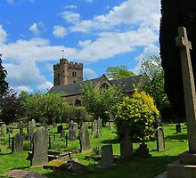Priory Church of St Mary, Usk, Wales by buttonpresser