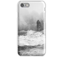 Old Man in winter iPhone Case/Skin