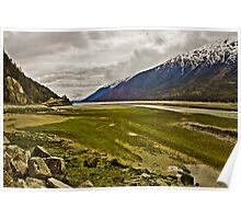 Lynn Canal at Low Tide Poster