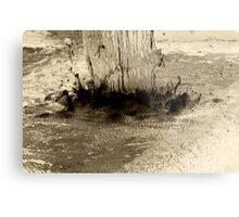 Inverse Water Fall Metal Print