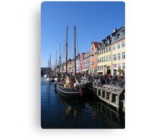 Nyhavn, Copenhagen Canvas Print