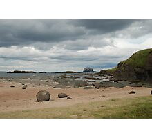 Bass Rock, low tide 2 Photographic Print