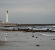 Barnes Ness Lighthouse,  by Michelle Bailey