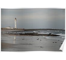Barnes Ness Lighthouse,  Poster