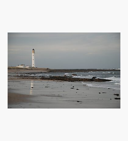 Barnes Ness Lighthouse,  Photographic Print