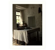The Seat by the Window Art Print