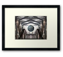 Love is my weapon Framed Print