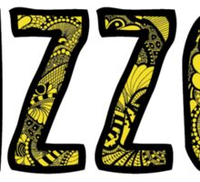 Mizzou Doodle Sticker