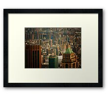 New York City Buildings and Skyline Framed Print