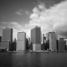 The New York City Skyline by Vivienne Gucwa