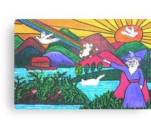 Rainbow Wizardry Canvas Print