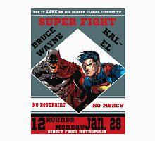 Batman v Superman Boxing Ad T-Shirt
