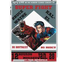 Batman v Superman Boxing Ad iPad Case/Skin