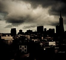 Storm's A Brewin - San Francisco by bryandempler