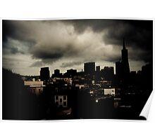 Storm's A Brewin - San Francisco Poster