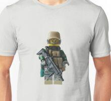Modern Military Fox Unisex T-Shirt