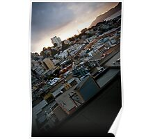 Slanted City - San Francisco Poster