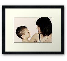 Love and Trust Framed Print