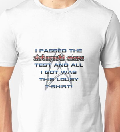 Kobayashi Maru Test - T-shirt Unisex T-Shirt