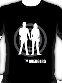 The Avengers - Emma Peel & John Steed T-Shirt
