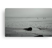 Shore Fishing Canvas Print