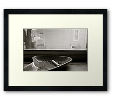 Nobody Home  Framed Print