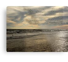Trust Mine Everlasting Arm Metal Print
