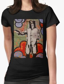 Melbourne Graffiti title image t-shirt Womens Fitted T-Shirt