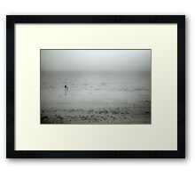 Walk to the Water Framed Print