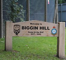 Home of the RAF, Biggin Hill by Keith Larby