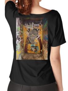 Melbourne Graffiti 10 hoodie Women's Relaxed Fit T-Shirt
